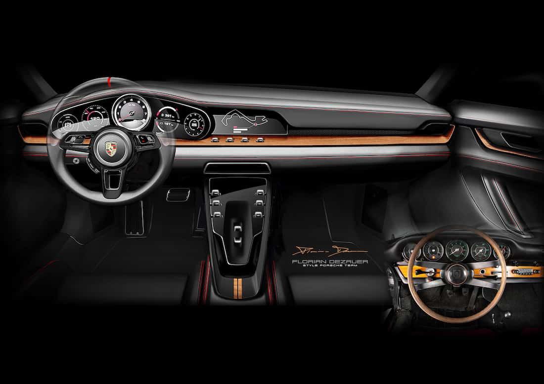 La estrategia Porsche Heritage Design