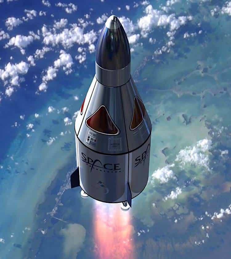Con esta compañía espacial tendrás que desembolsar $50 millones para viajar al espacio.