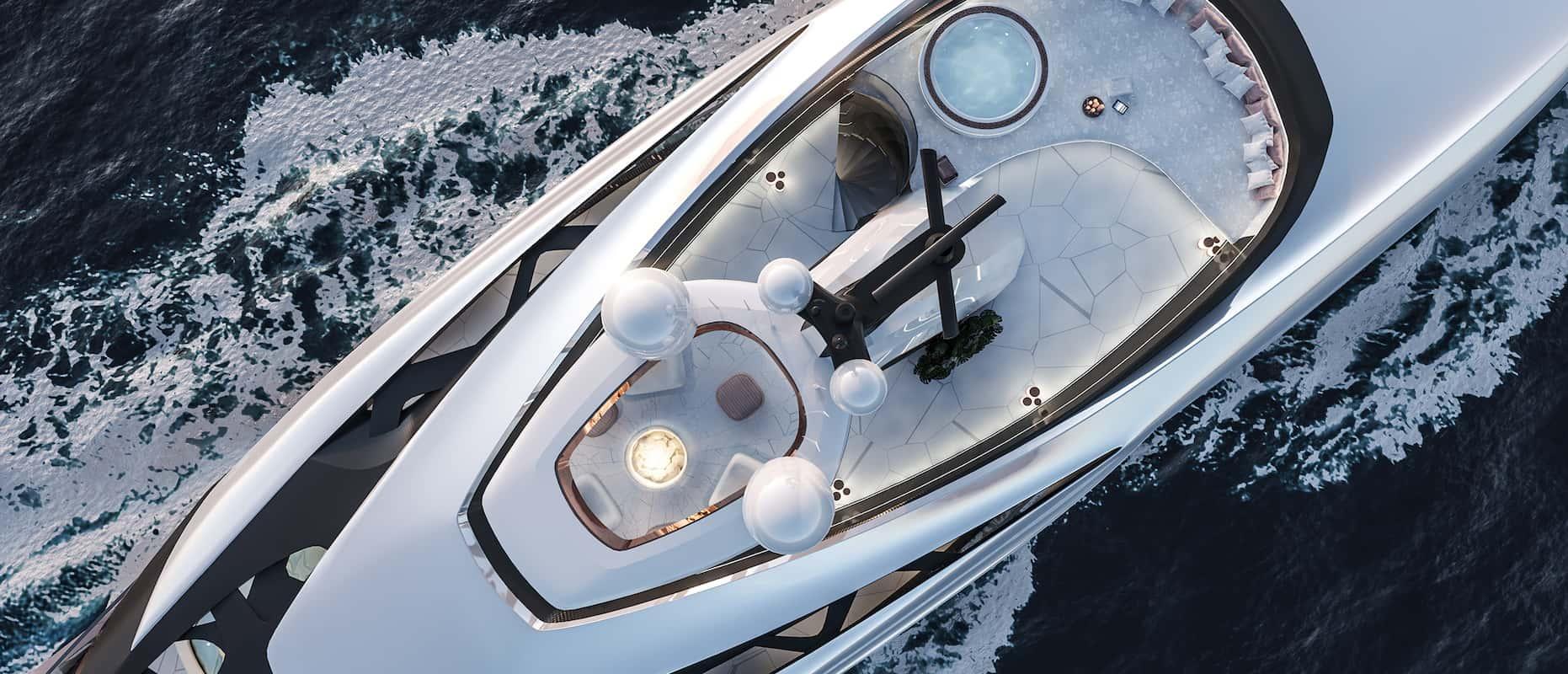 Vripack diseñó esta impresionante embarcación para Nobiskrug