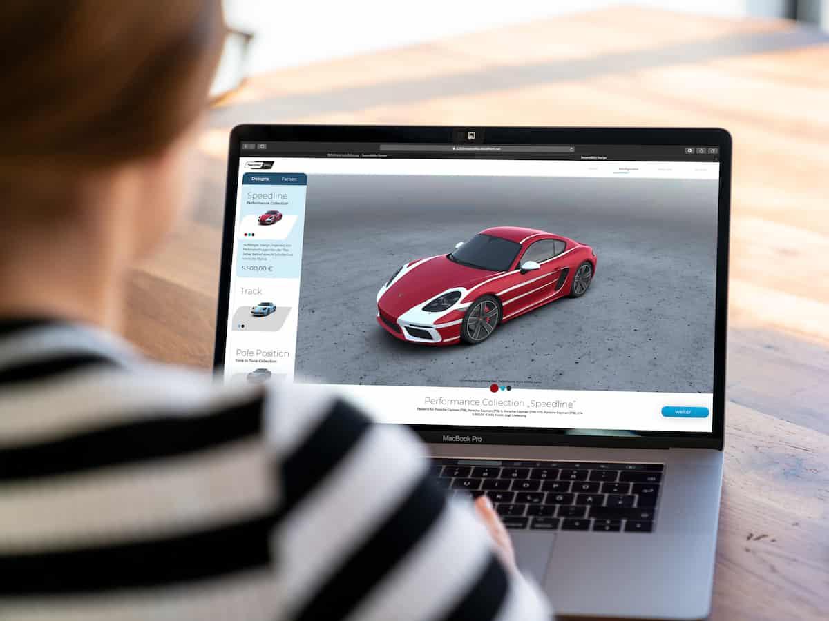 Porsche Digital lanza plataforma online para decoración de carrocerías