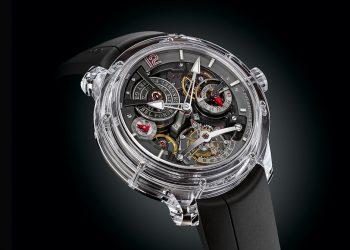 Exclusivo reloj Greubel Forsey Double Tourbillon 30° Technique Sapphire