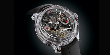 Exclusivo reloj Greubel Forsey Double Tourbillon 30° Technique Sapphire