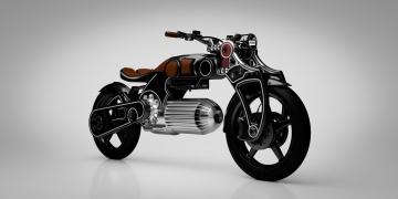 Hades, la motocicleta eléctrica por Curtiss Motorcycles