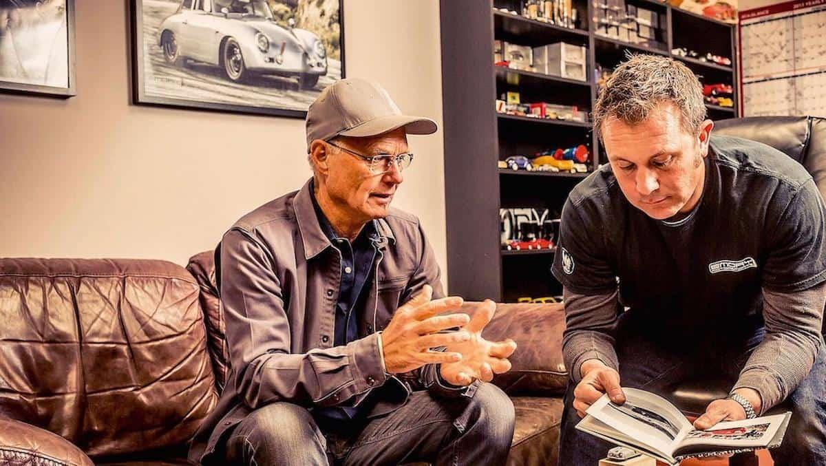 Porsche: Cameron Healey y Rod Emory
