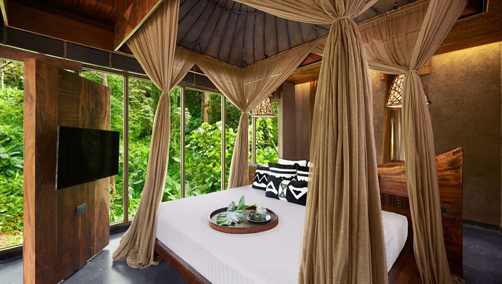 Piérdase en el ultra lujoso resort Keemala en Phuket, Tailandia