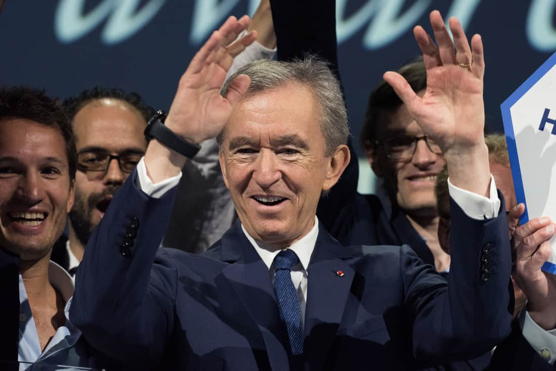 Bernard Arnault destrona a Bill Gates como la segunda persona más rica del mundo.