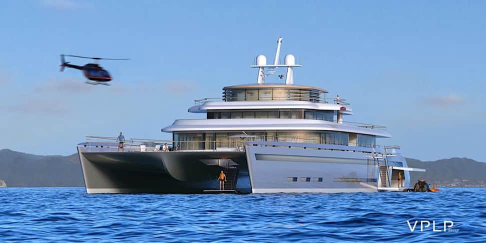 """MANIFESTO: Un súper concepto de """"catamarán de lujo"""" de 71 metros por VPLP Design"""