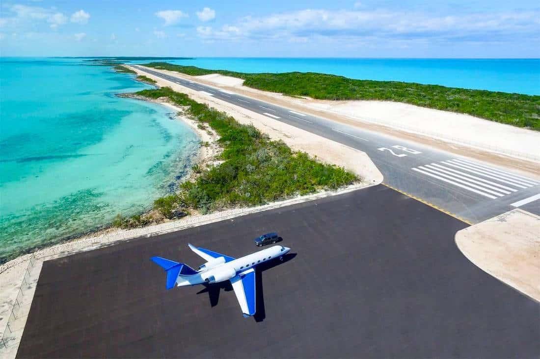La paradisíaca isla privada de 700 acres y con su propia pista de aterrizaje en las Exumas