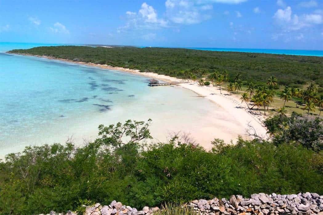 Blue Island, de 700 acres y con su propia pista de aterrizaje, podría ser la más exclusiva del mundo.