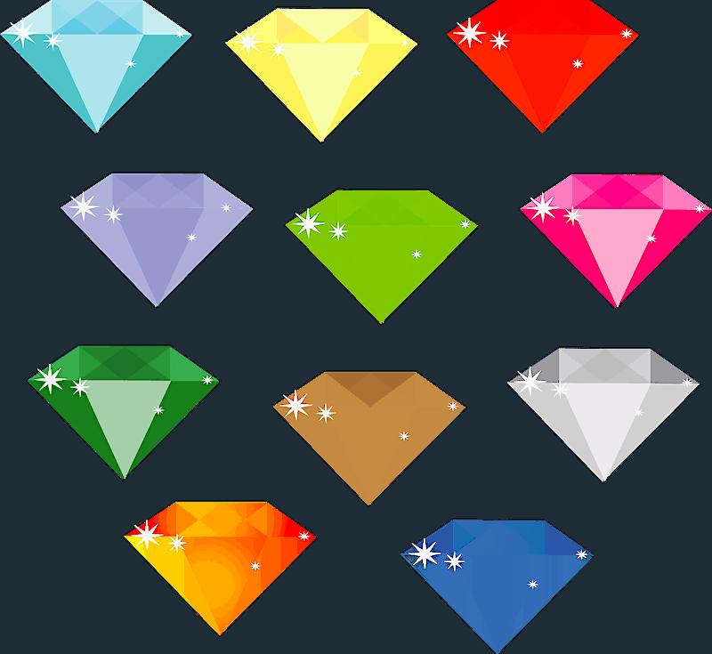 Los colores del diamante