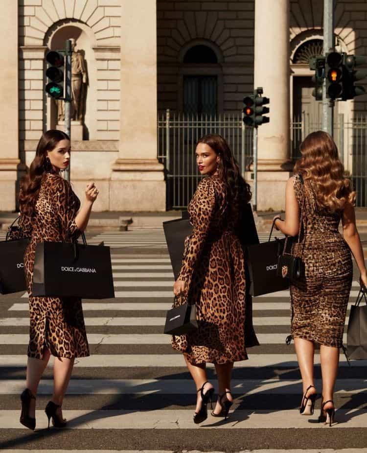 Ahora las mujeres con curvas también podrán verse divinas vistiendo Dolce & Gabbana