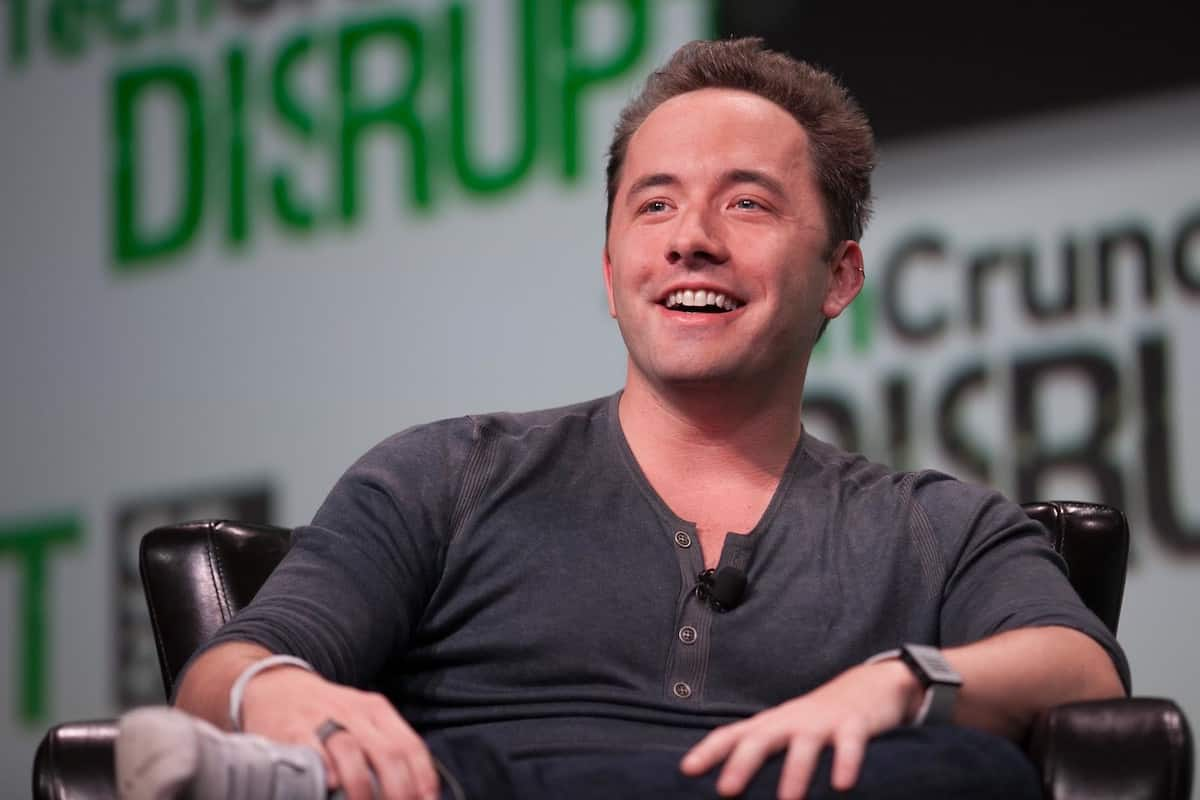 Drew Houston, cofundador y CEO de Dropbox