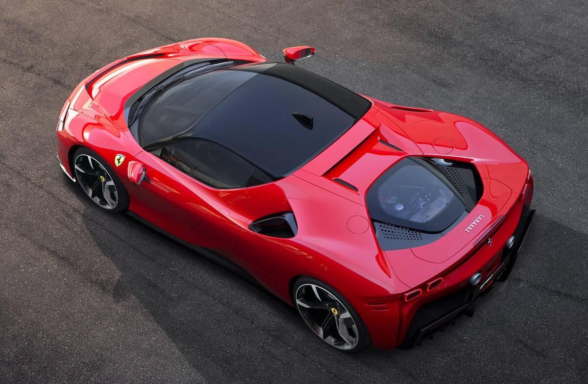 Ferrari SF90 Stradale | Sistema de propulsión