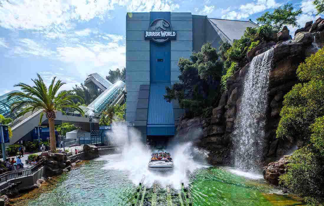 Jurassic World - The Ride en Universal Studios Hollywood