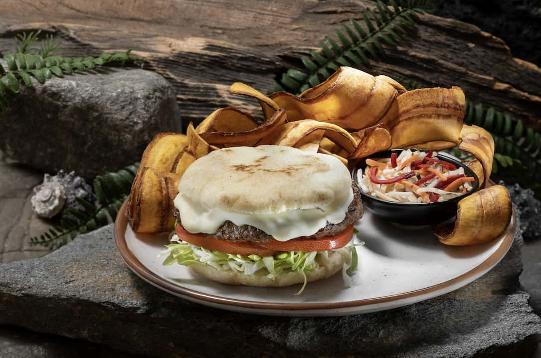 Jurassic Cafe: Isla Burger