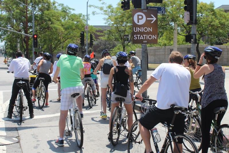L.A. Cycle's Taco Bike Tour