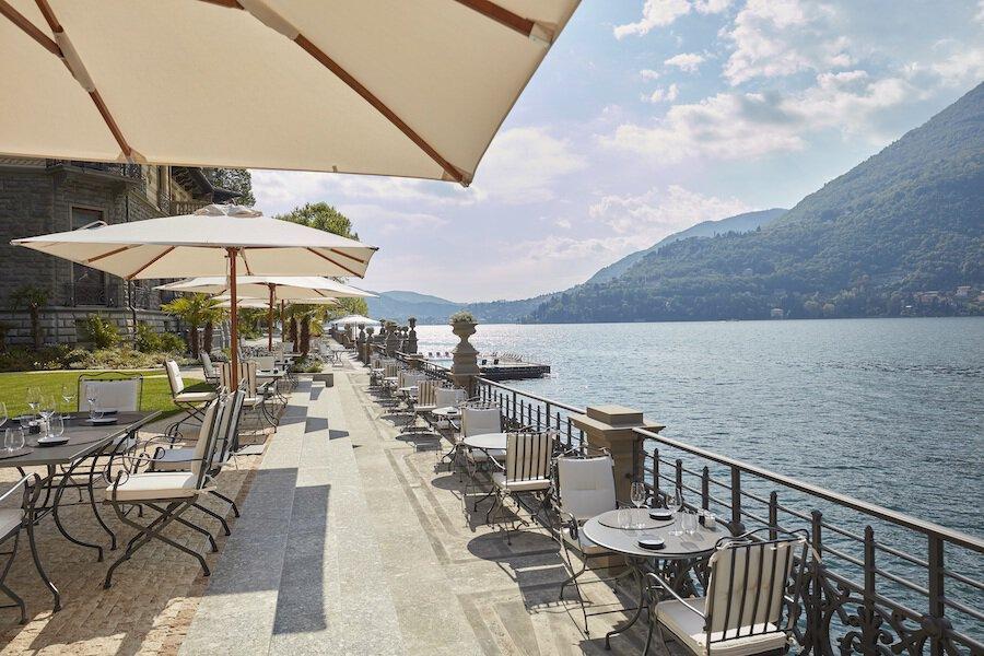 Terraza del CO.MO Bar & Bistrot, Mandarin Oriental, Lago Como