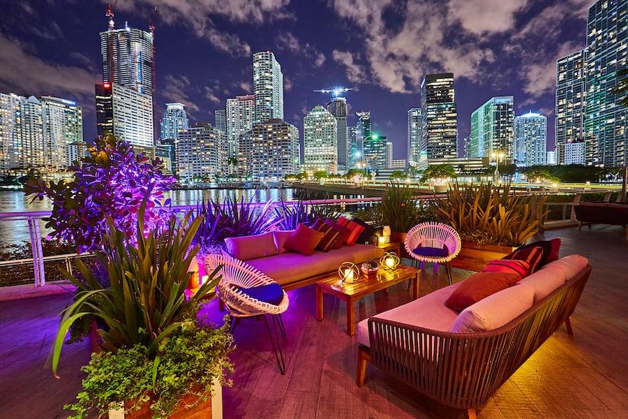 Terraza del YAKU, Mandarin Oriental, Miami