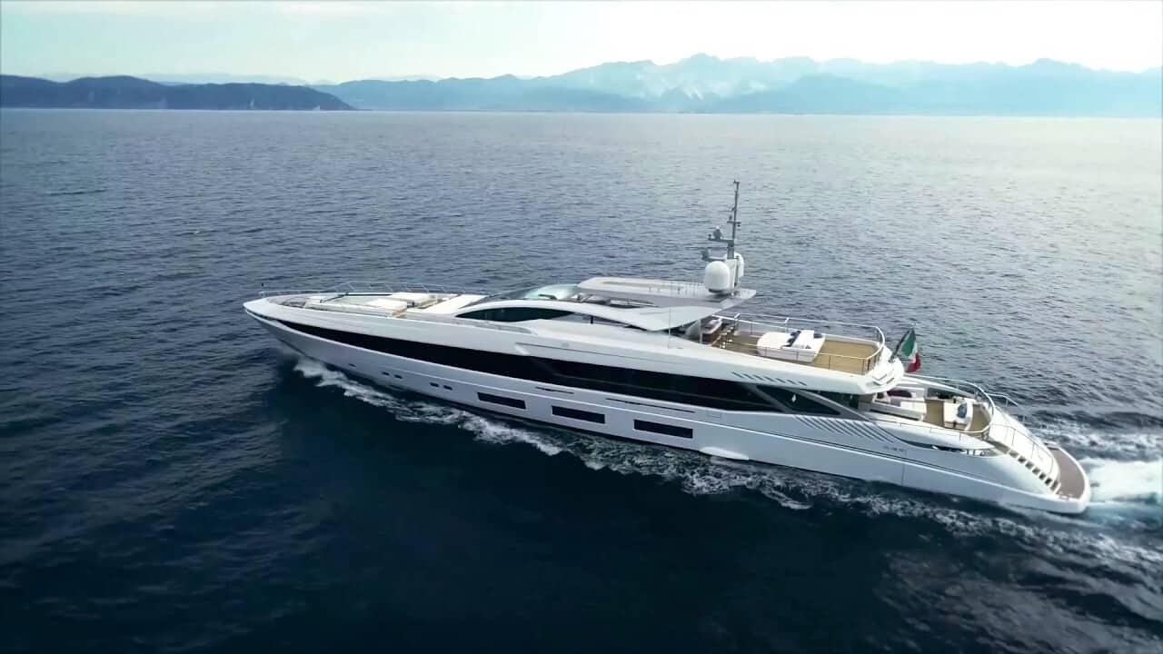 Así es el Mangusta GranSport EL LEON por Mangusta Yachts