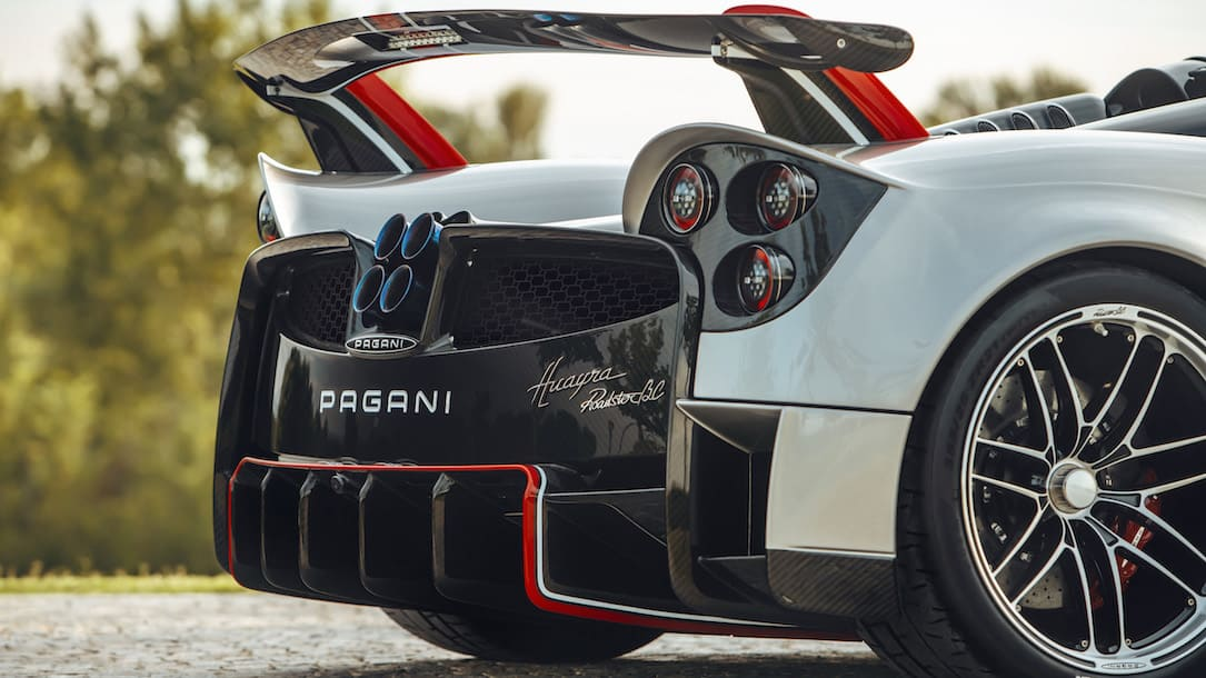 Pagani Huayra Roadster BC