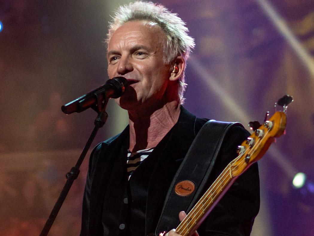 La súper estrella del Rock, Sting