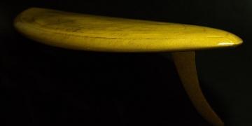 The Aureus: La tabla de surf más cara del mundo está hecha con oro de 24 quilates
