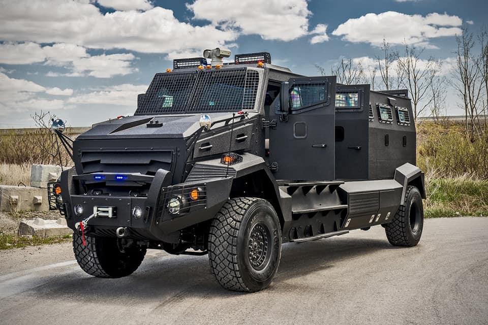 INKAS Huron APC, un poderoso vehículo blindado ¡casi indestructible!