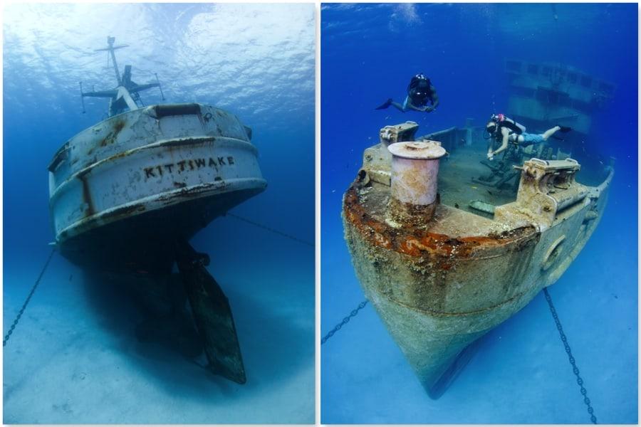 Una experiencia submarina en un naufragio histórico