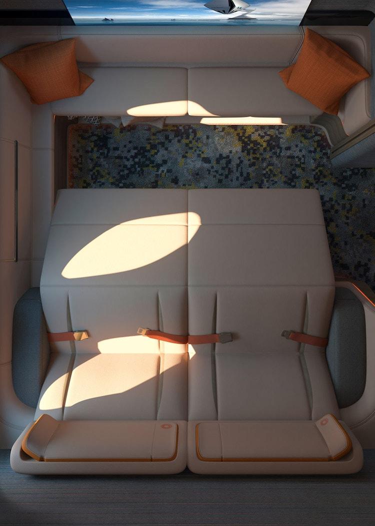 First Spaces, Cabinas de primera clase