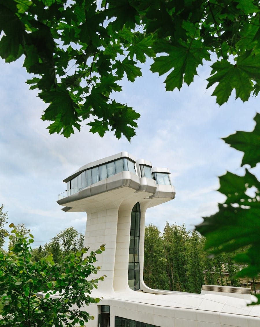 Residencia privada diseñada por Zaha Hadid para el magnate ruso Vladislav Doronin