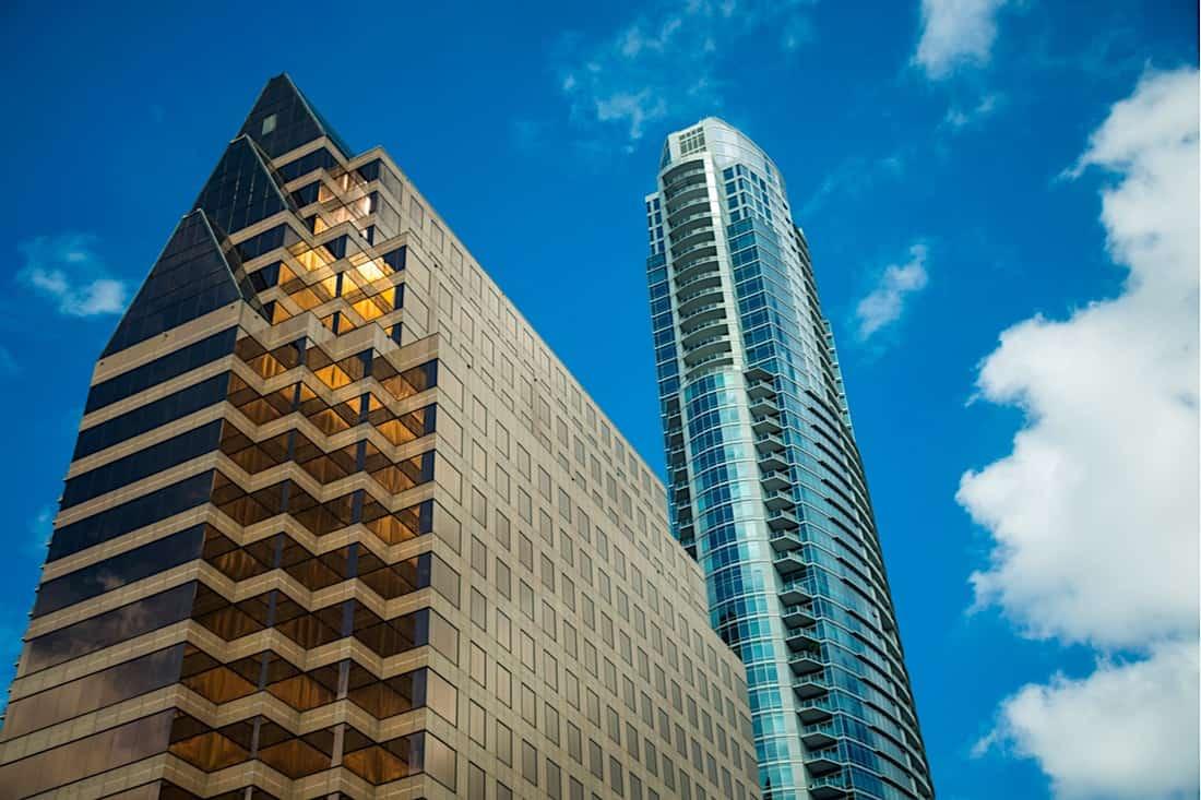 Rascacielos The Austonian en Austin, Texas