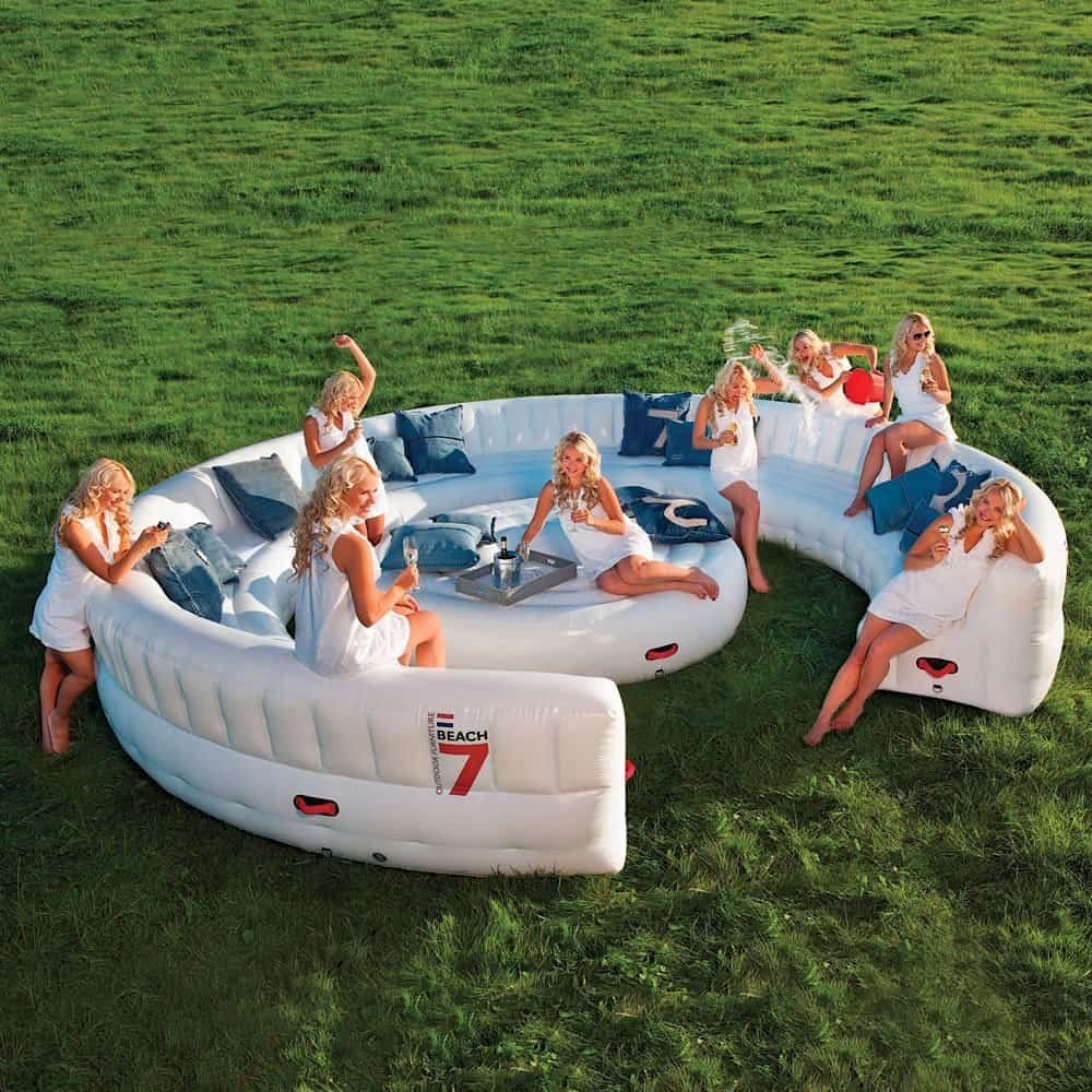 Sofá inflable Beach7 AirLounge