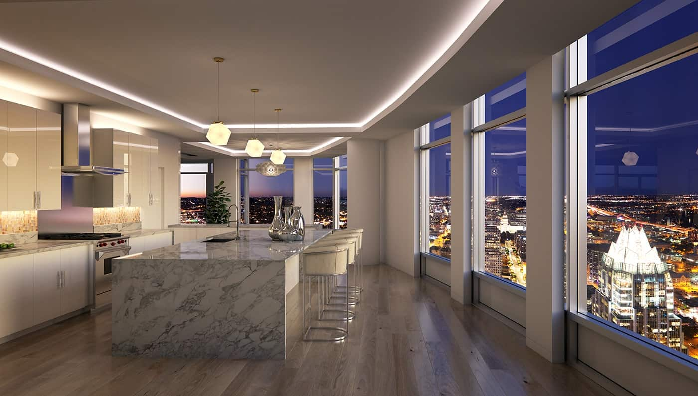 Ultra lujoso penthouse en el downtown de Austin, Texas