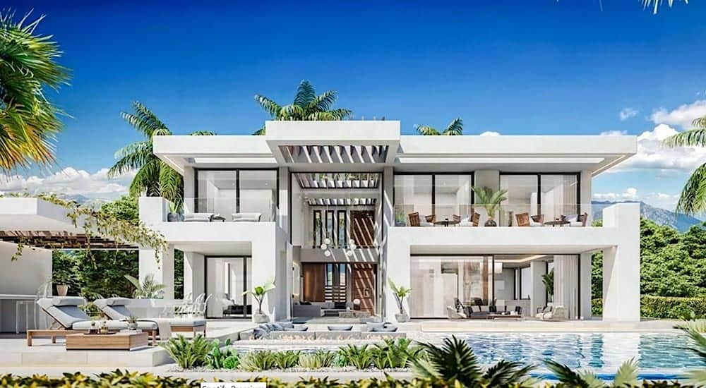 Chequea la villa española frente al Mediterráneo que Cristiano Ronaldo compró en Marbella.