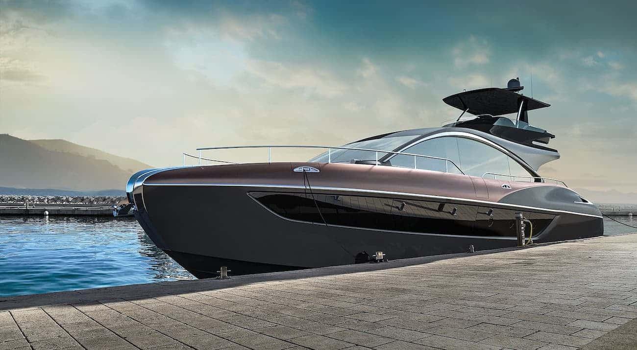 Lexus anuncia la llegada de su yate deportivo LY 650 para finales de 2019; tres años después del lanzamiento del concepto de yate de lujo