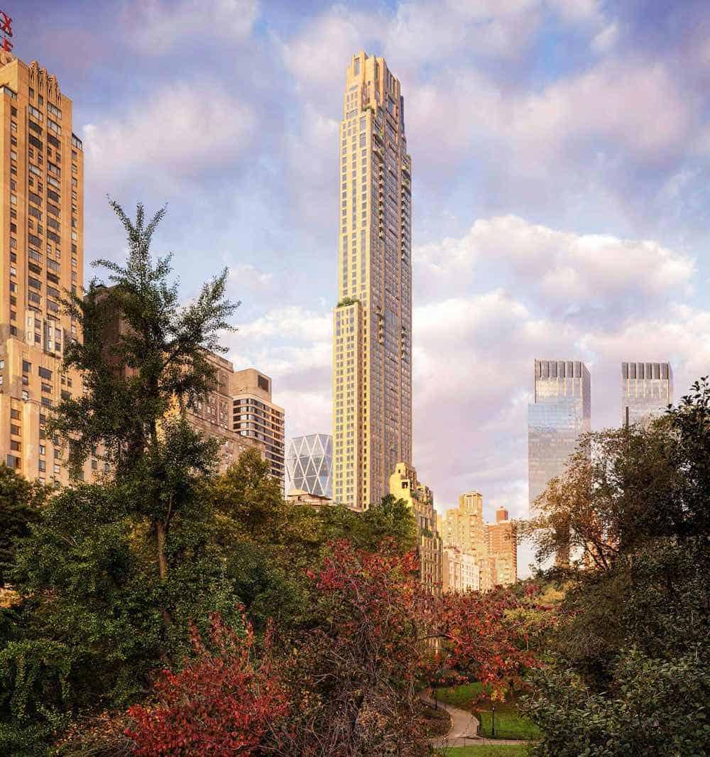 220 Central Park South en Manhattan, Nueva York