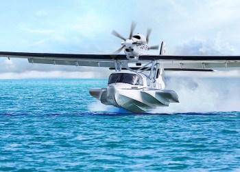 Dornier Seawings resucita el avión anfibio Seastar que se desplaza por el aire y el agua con la misma facilidad