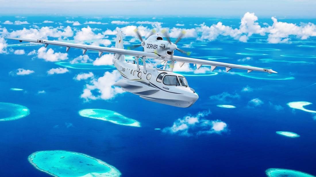 Dornier Seawings resucita el Seastar, que se desplaza por el aire y el agua con la misma facilidad
