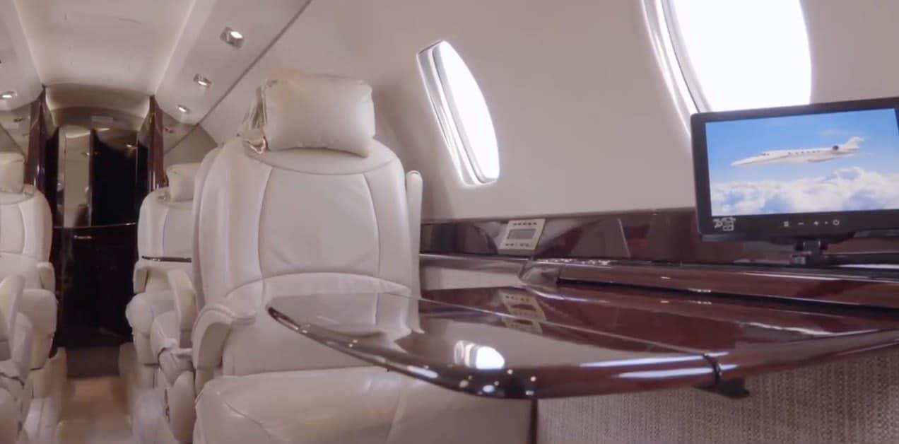 Pone a la venta este maravilloso avión privado con jetAVIVA