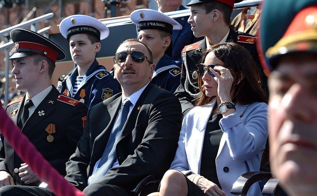 Ilham Aliyev y Mehriban Aliyeva
