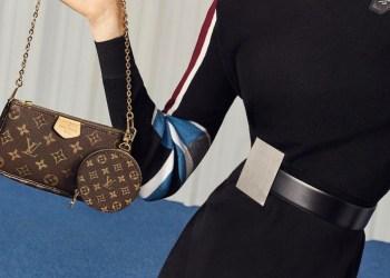 "La casa de moda parisina Louis Vuitton lanza el nuevo bolso ""Monogram Multi-Pochette"""