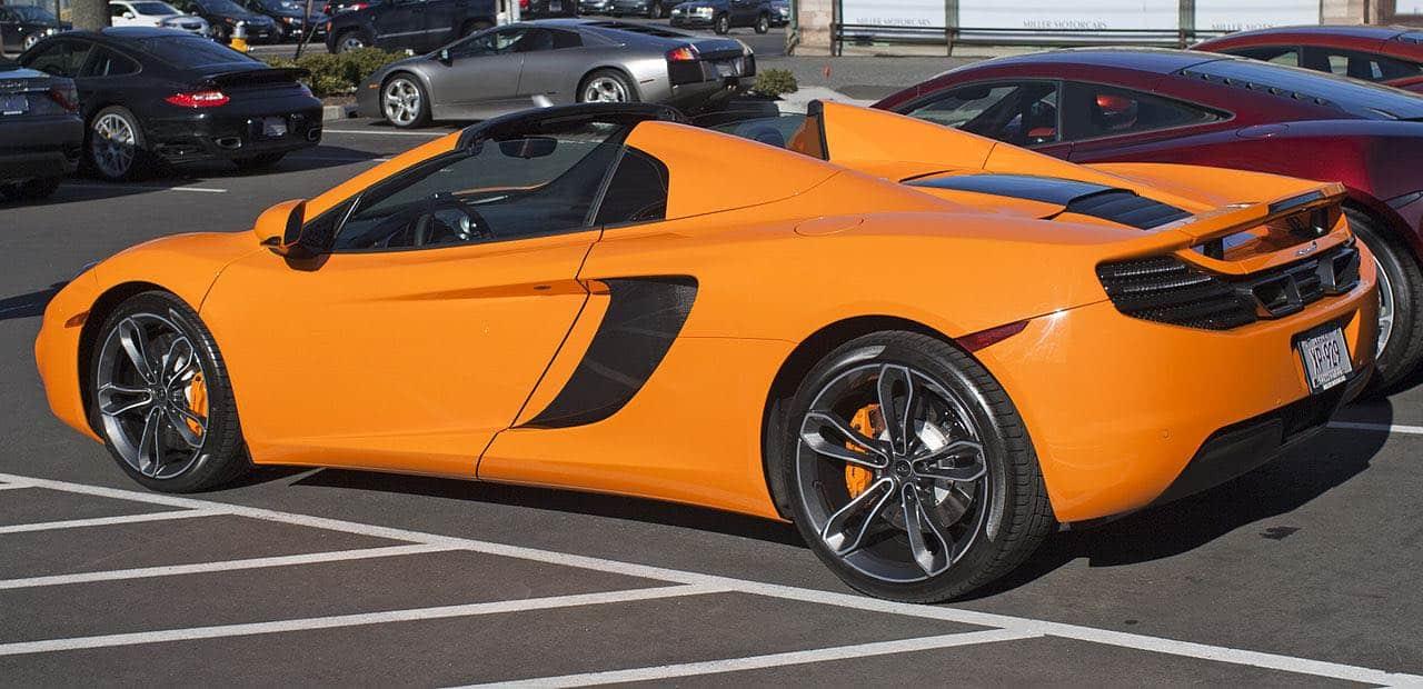 12C Spider, parte de la exclusiva colección de 23 superdeportivos McLaren