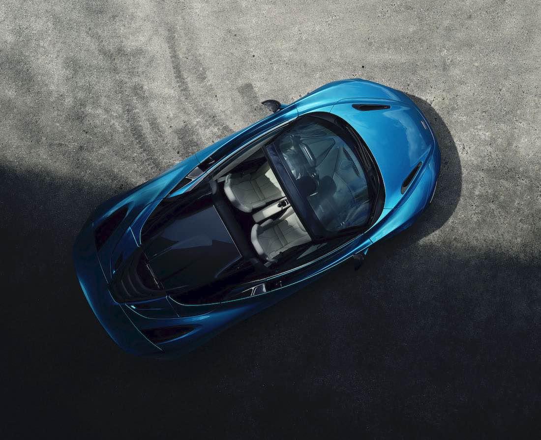 McLaren Automotive deslumbra con el nuevo superdeportivos 720S Spider