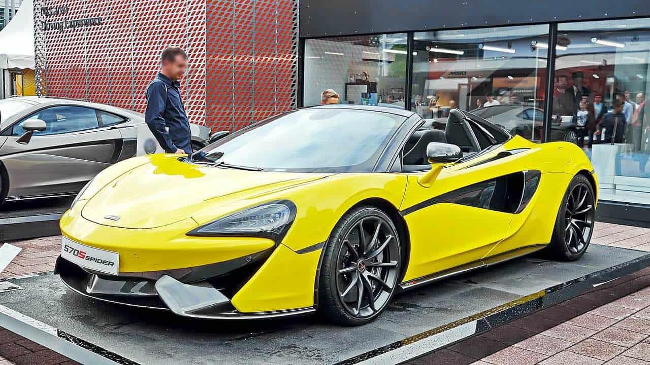 570S Spider, parte de la exclusiva colección de 23 superdeportivos McLaren