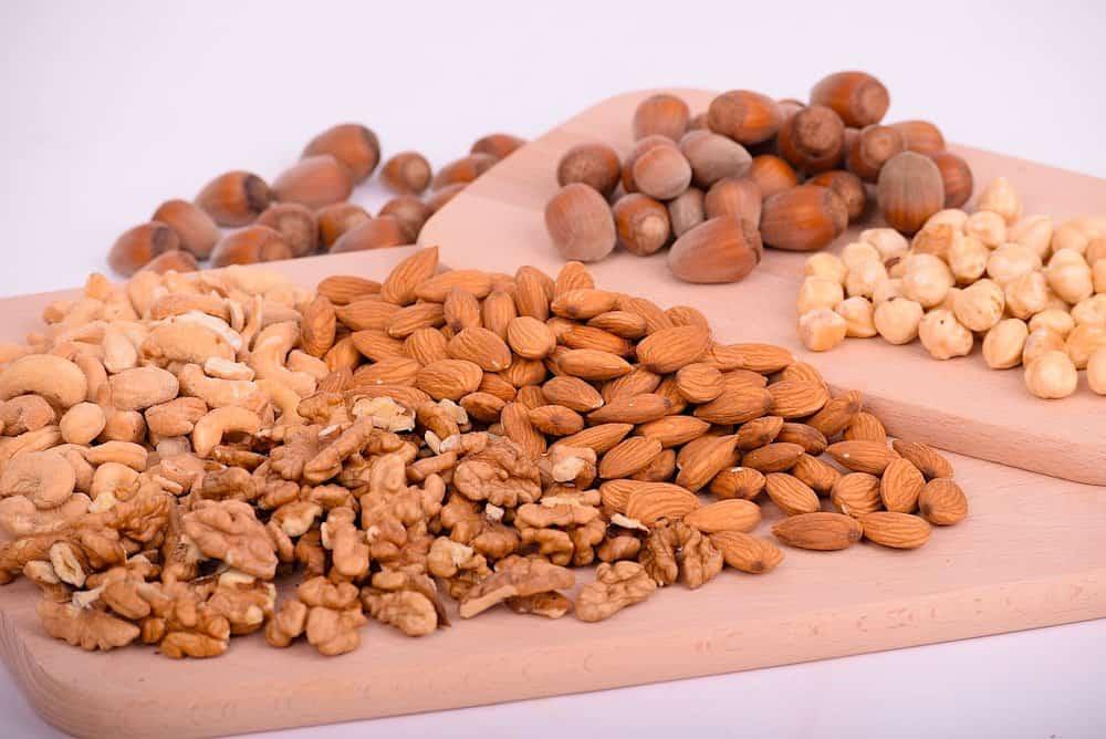 ueces crudas, semillas y frutos secos