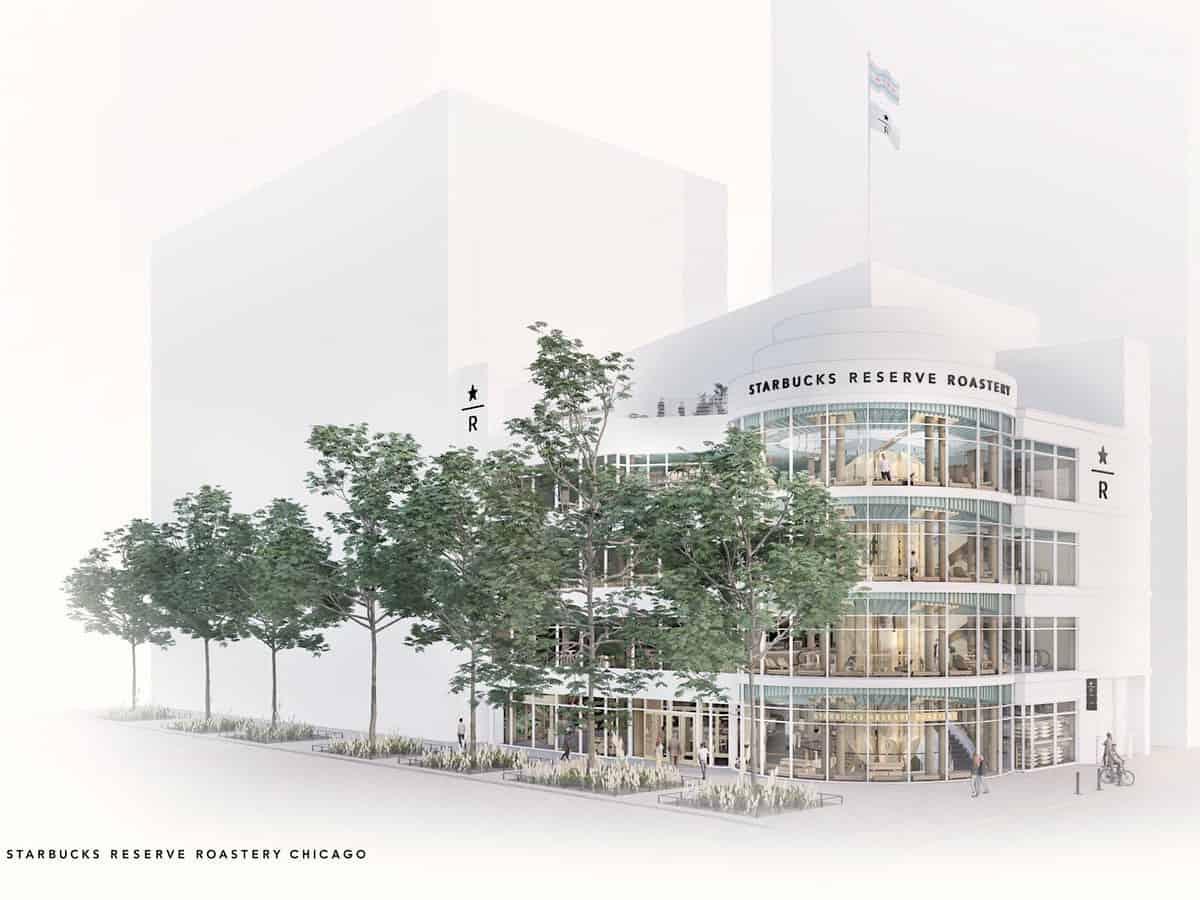 Starbucks Reserve Roastery en Chicago, será el más grande del mundo. Abrirá este otoño