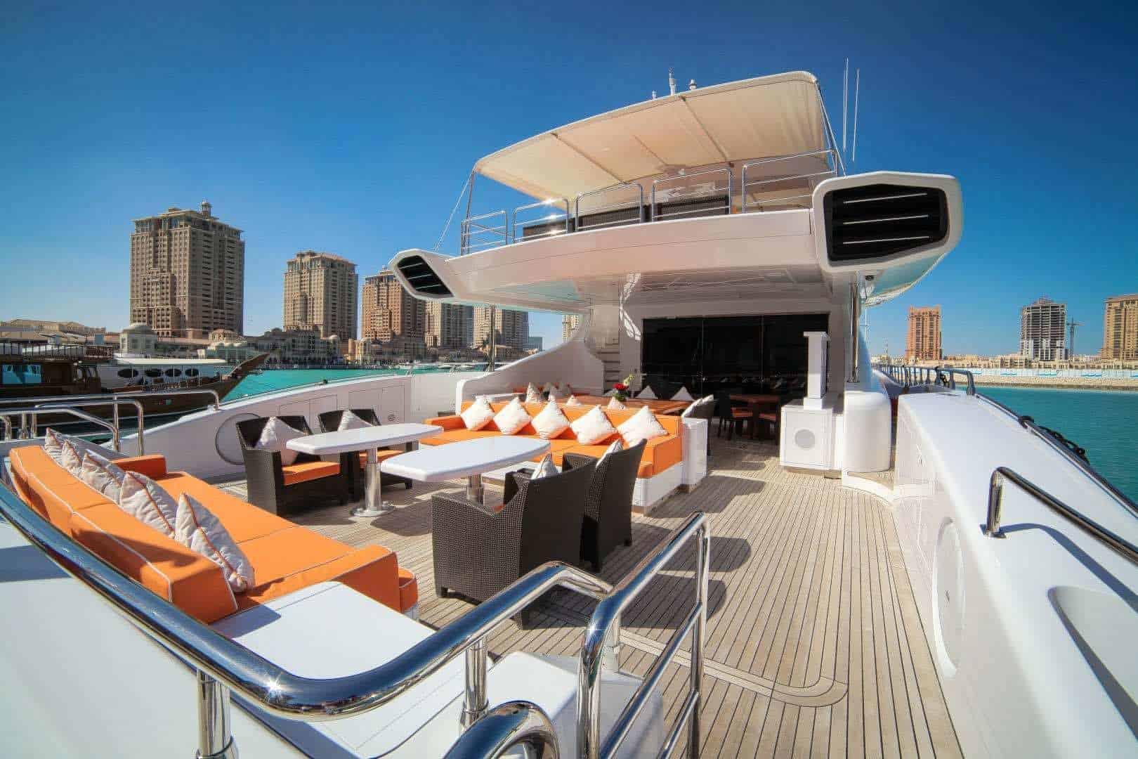 SERENITY: Excelente opción para multimillonarios interesados en una vida rápida y lujosa en el mar