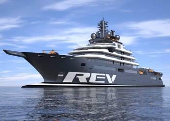 REV Ocean, el súperyate más grande del mundo