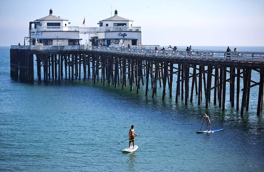 Surfrider Beach en Malibu