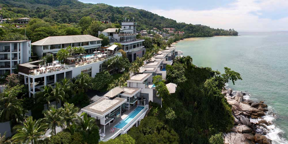 La fascinante Villa Chi en Cape Sienna Resort, Phuket, Tailandia